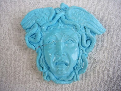 medusa in turchese
